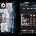 persian cat 01 tiny mini amulet bag peyote seed bead pattern pdf or kit diy maddiethekat designs 2