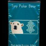 Polar Bear Tiny Mini Amulet Bag Peyote Bead Pattern PDF or KIT DIY-Maddiethekat Designs