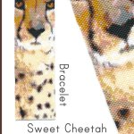Sweet Cheetah Wide Cuff Bracelet Peyote Bead Pattern PDF or Bead Kit