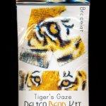 Tiger's Gaze Wide Cuff Bracelet Delica 2-Drop Peyote Bead Pattern or KIT-Maddiethekat Designs