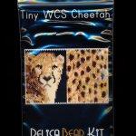Wild Cat Series Cheetah Tiny Mini Amulet Bag Peyote Seed Bead Pattern PDF or KIT DIY-Maddiethekat Designs