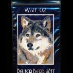 Wolf 02 Small Panel Peyote Bead Pattern PDF or KIT DIY-Maddiethekat Designs