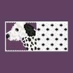 Dalmatian Dog Tiny Peyote Bead Pattern PDF or Bead Kit
