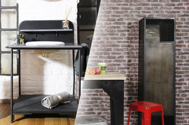 les meubles industriels sont en soldes