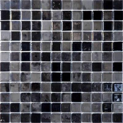 noir gris mix nacre gloss mosaique emaux par plaque 31 5 cm