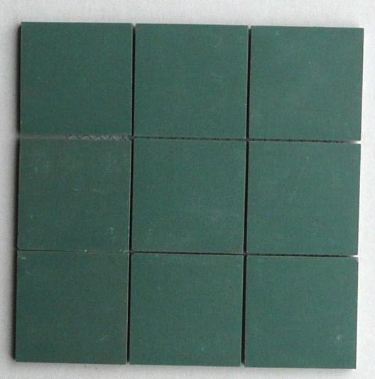 vert fonce 5 par 5 cm mosaique gres antique paray au m