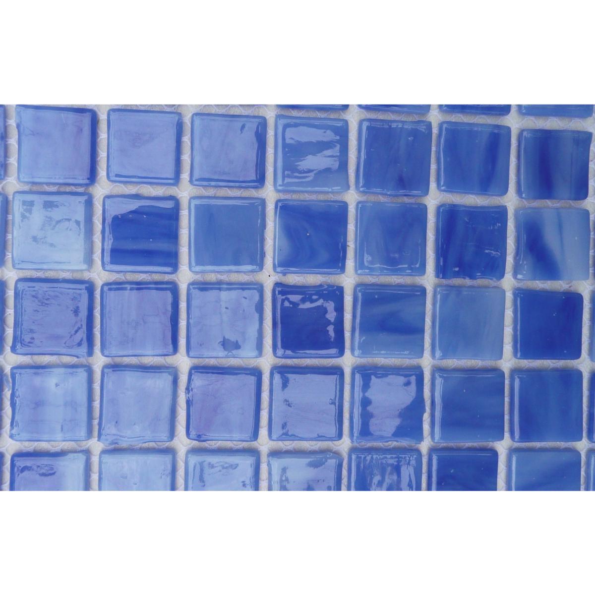 Mosaique De Verre Americain Vitraux Achat Et Vente De Mosaique Bleu Pastel Fonce Plaque