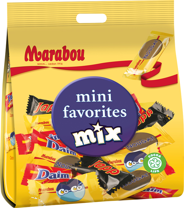 Biu Marabou Mix Mini Favorites Chocolate online