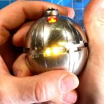 The completed thermal detonator