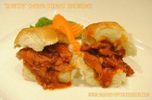 "Supper Sunday: ""Silver Star"" Crock Pot Sandwiches"