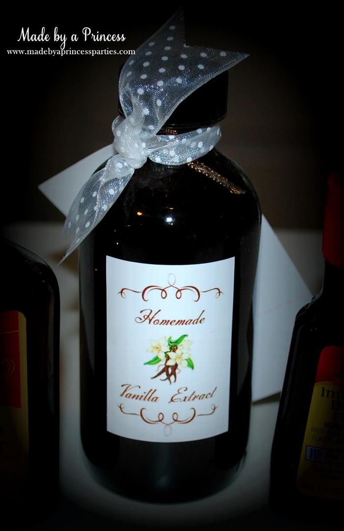 vanilla extract bottle