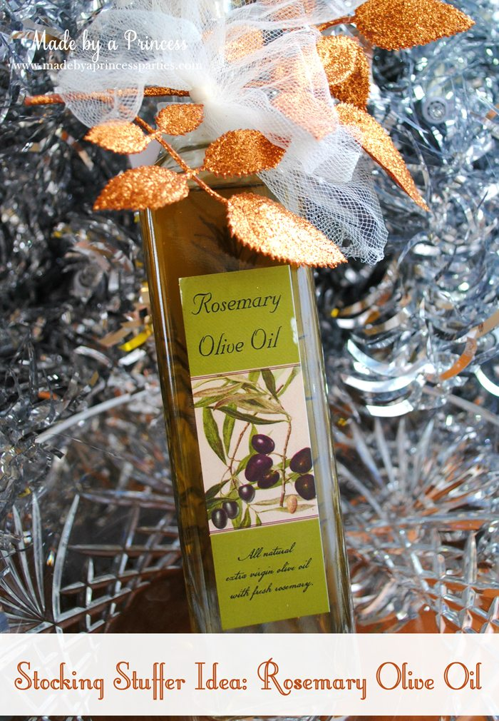 stocking stuffer idea rosemary olive oil