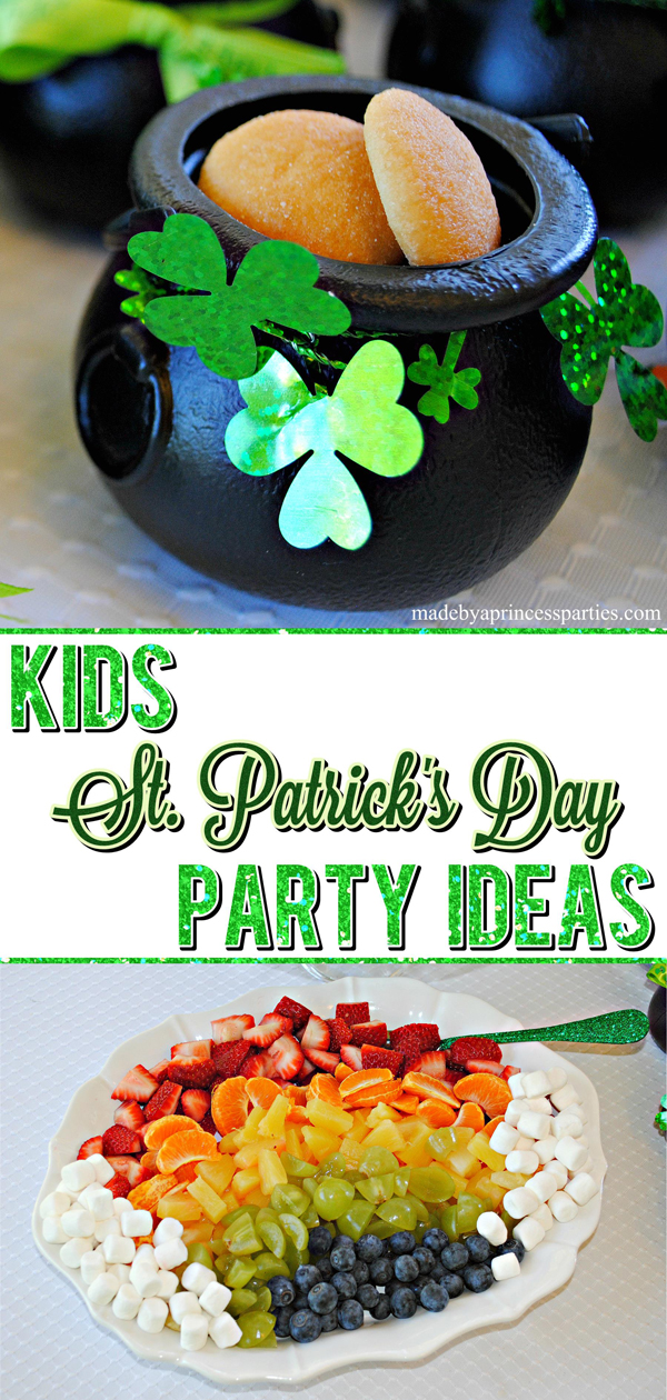 Kids St Patricks Day Party Ideas with activities sure to bring good luck