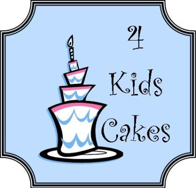 4 kids cakes logo