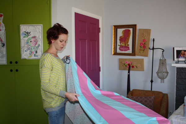 How to Make a PVC Canopy make your own fabric canopy