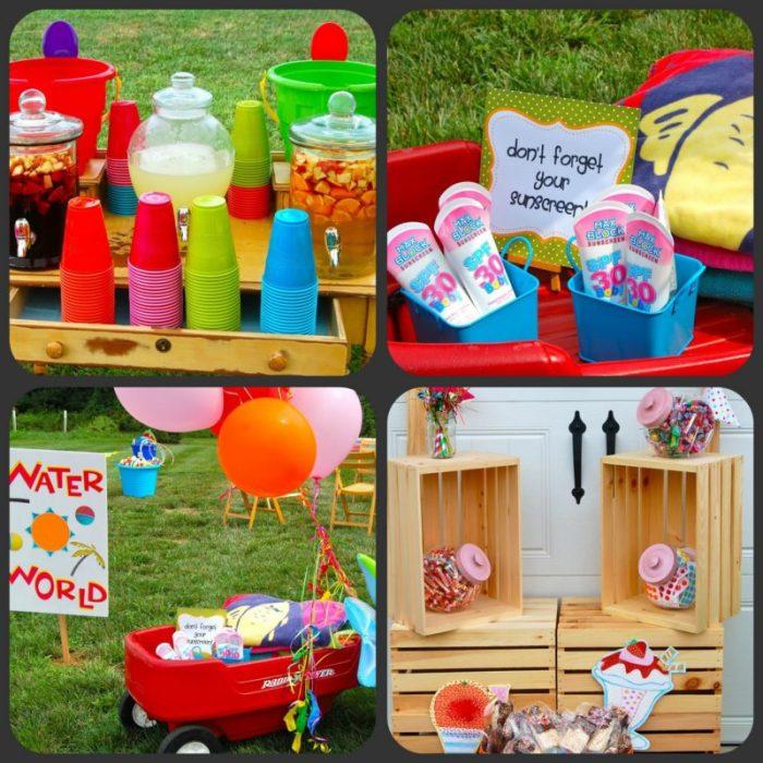 summer fun collage