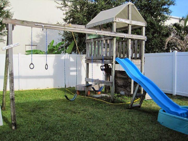 How to Make a Sprinkler Swing Set