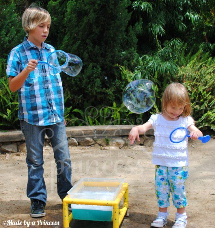 Botanical gardens bubbles