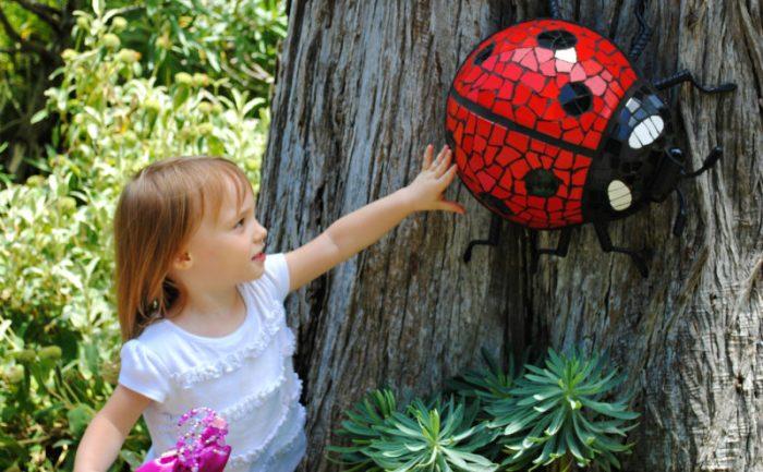 botanical gardens ladybug