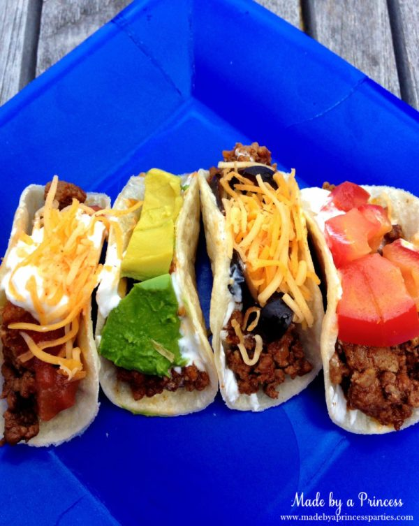 how to make mini tacos filled with fave ingredients