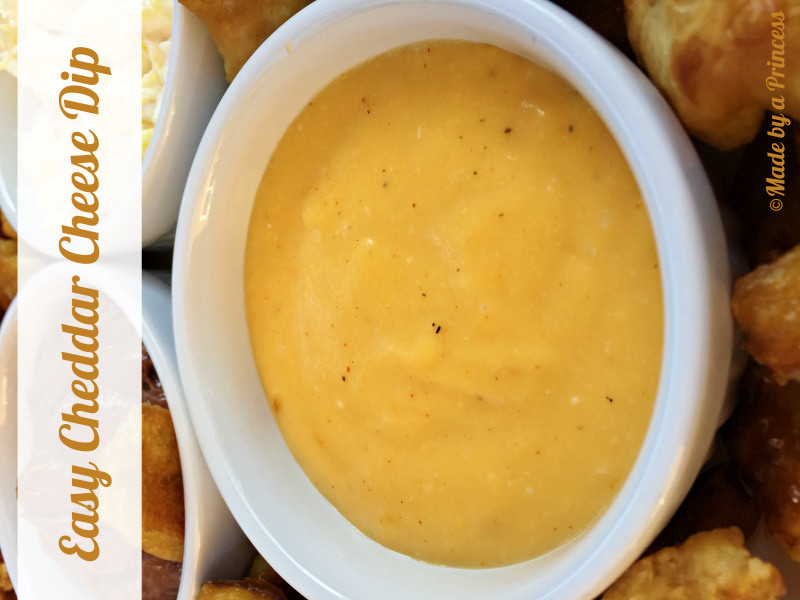 easy cheddar cheese dip
