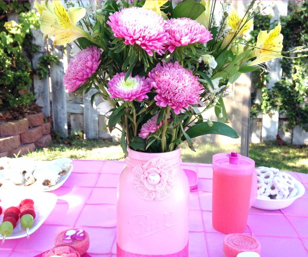 Sweet and Simple Barbie Tea Party
