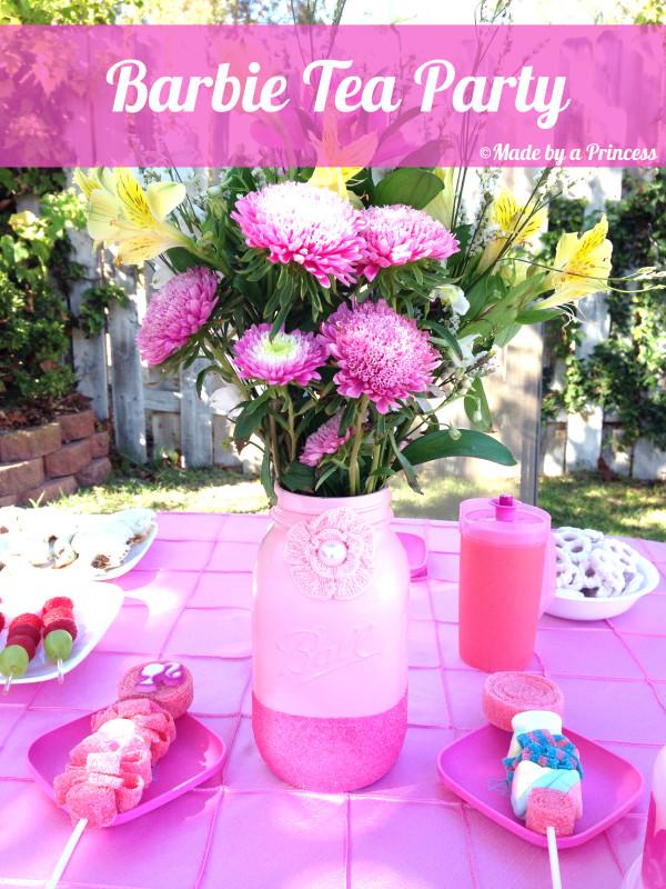barbie tea party main