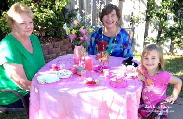 barbie tea party