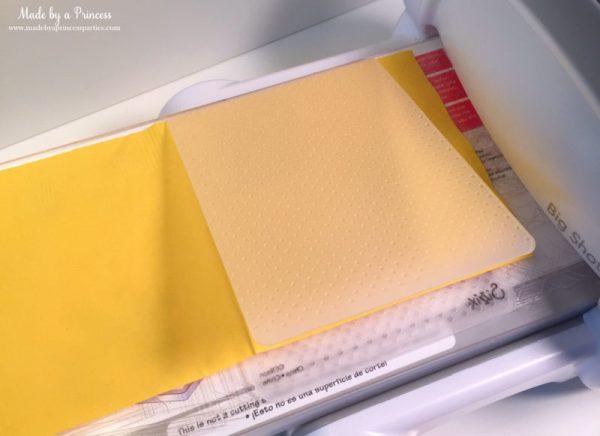 sizzix embossed napkins2