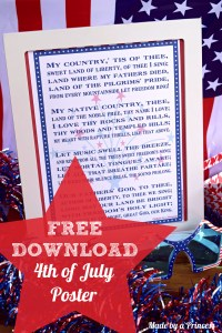Free Download 4th of July Poster