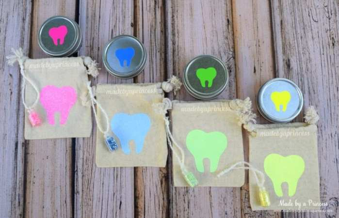 diy tooth fairy kit pouch set