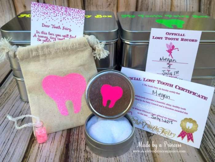 diy tooth fairy kit pouch with printables