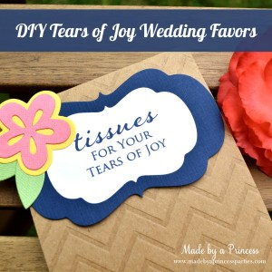 DIY Tears of Joy Packets