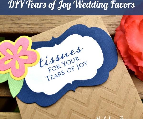 DIY Tears of Joy Packets