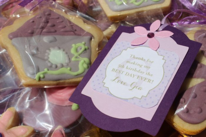 best day ever rapunzel party by tabletop treats favors