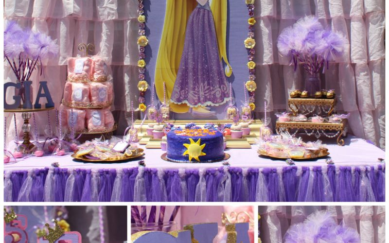 Gorgeous Rapunzel Party You Must See