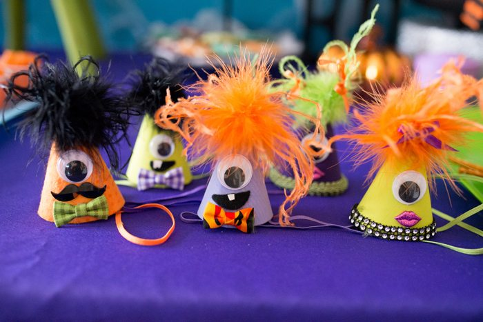 Monster Mash Party Ideas monster hats