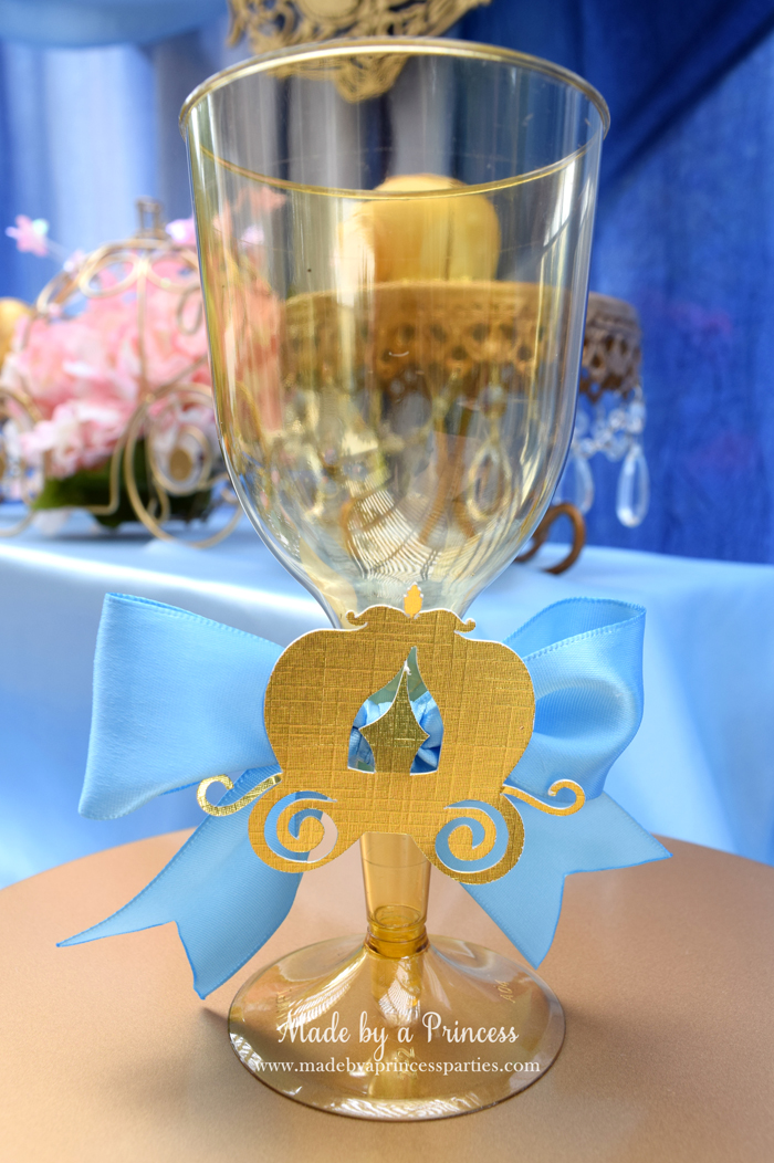 Princess Cinderella Party Will Leave You Enchanted goblet