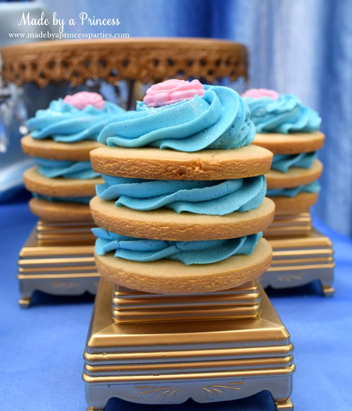 Princess Cinderella Party Will Leave You Enchanted stacked cookies