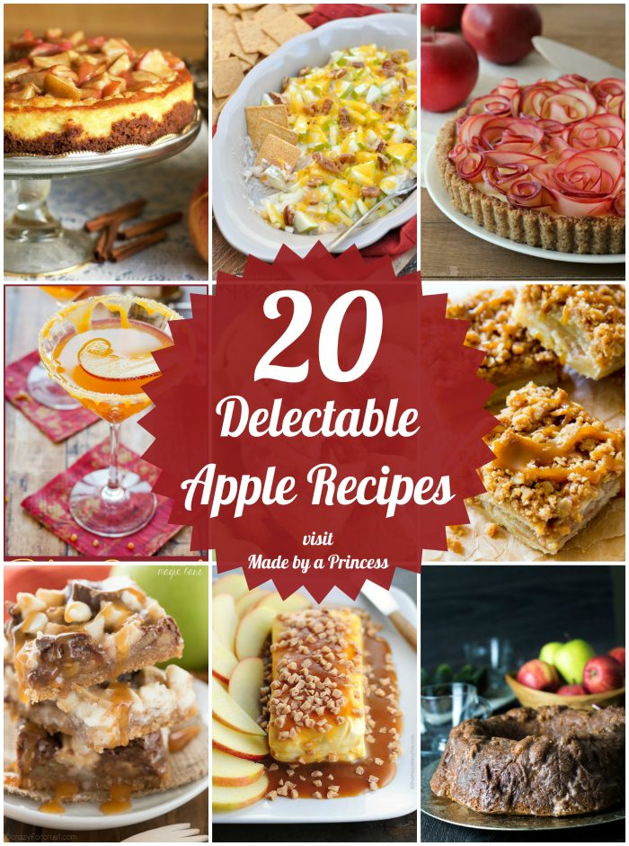 20 delectable apple recipes