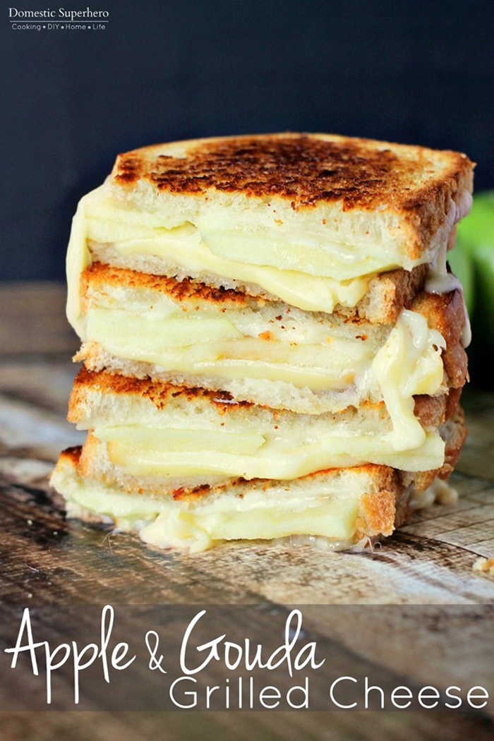 Apple-Gouda-Grilled-Cheese just us four