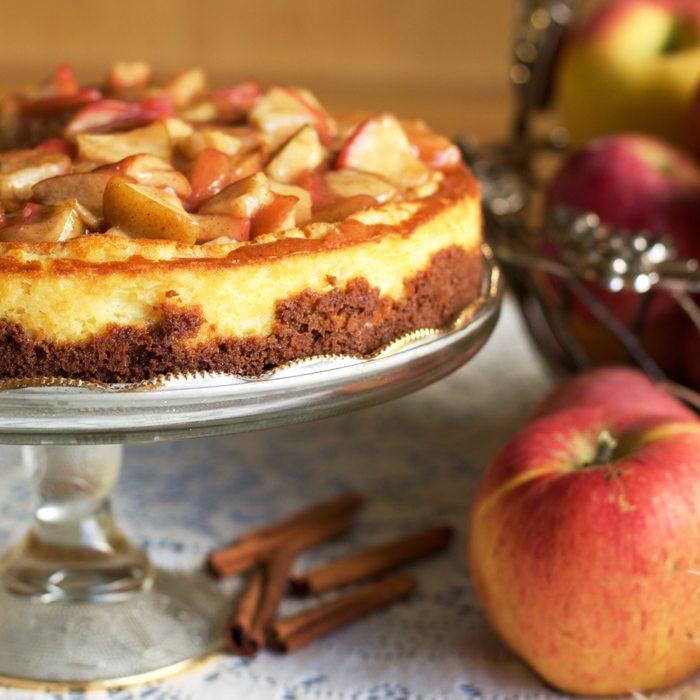apple pie cheescake