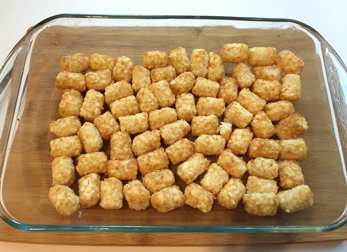 christmas casserole tater tot layer