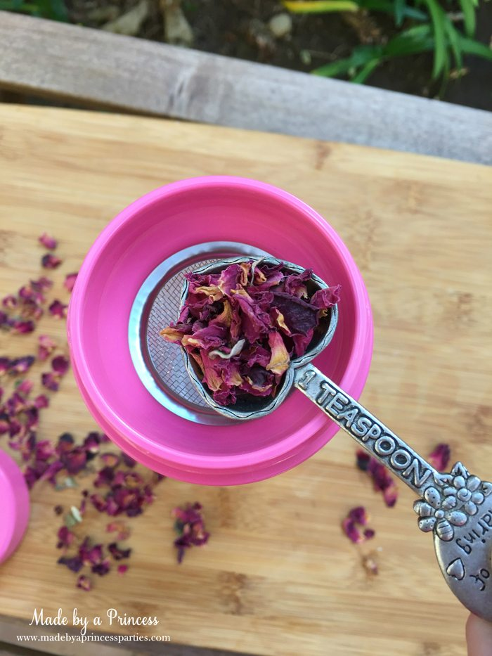 libre tea travel infuser with dried roses wm