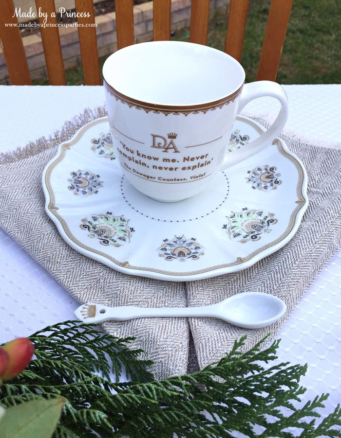 downton abbey cpwm cookie exchange mug
