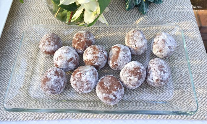 downton abbey cpwm cookie exchange rum balls