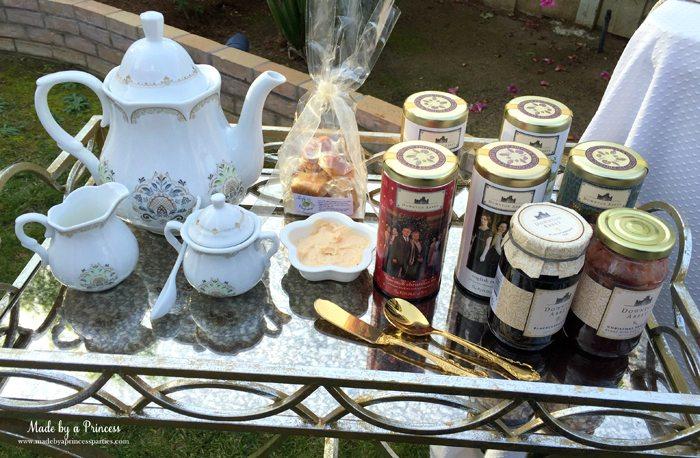 downton abbey cpwm cookie exchange tea service