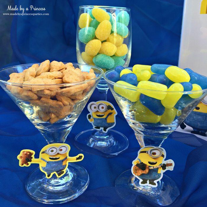 minions movie night lava mocktail snacks