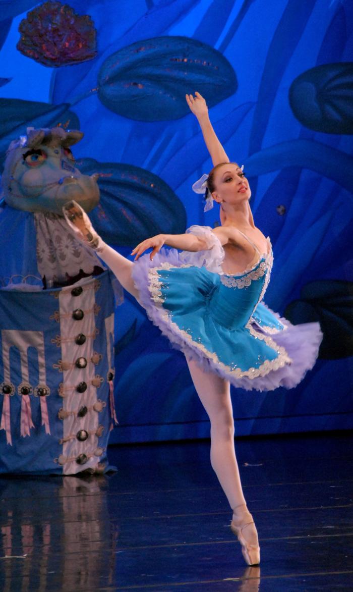moscow ballet nutcracker Anastasia Homitcaia French Variation