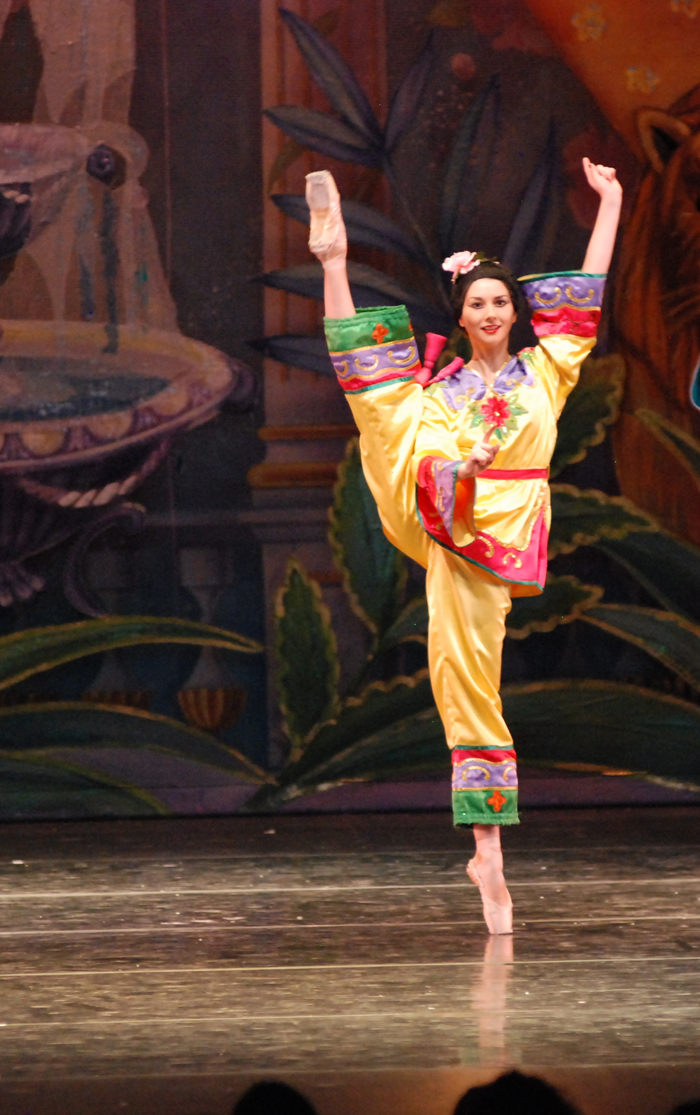moscow ballet nutcracker Chinese Arabesque